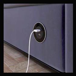 VERSADOT 2 x USB NOIR GLASS - 060.30Y.00003