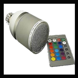 AMPOULE LED RGB + H.P BLUETOOTH - 40059