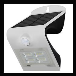 PROJECTEUR LED SOLAIRE 2W BLANC - 40066