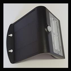 PROJECTEUR LED SOLAIRE 3,2W NOIR - 40067B