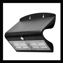 PROJECTEUR LED SOLAIRE 6,8W NOIR - 40068B