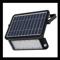 PROJECTEUR LED SOLAIRE 10W - IP65 - 40070