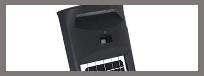 Eclairage LED extérieur avec détecteur de mouvement